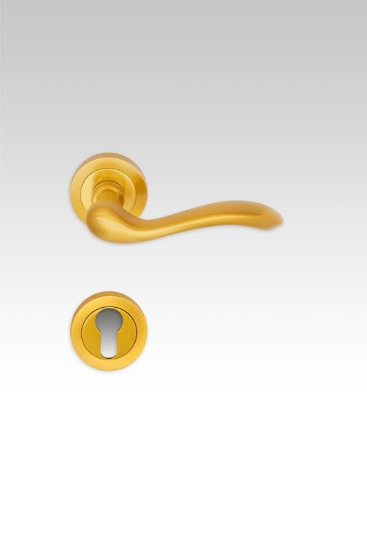 klamka Erica w kolorze złotym